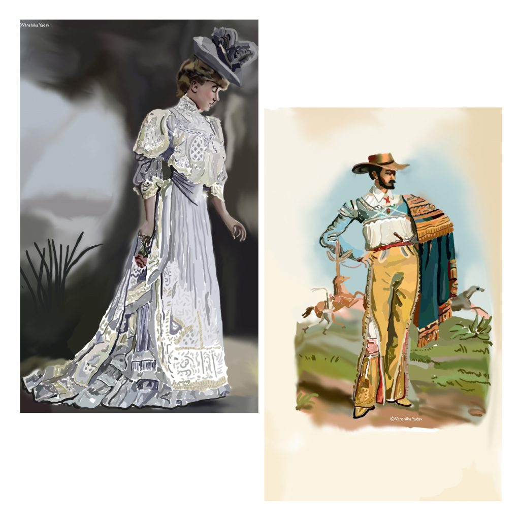 Fashion and Identity: Nineteenth and Twentieth Century Fashion.