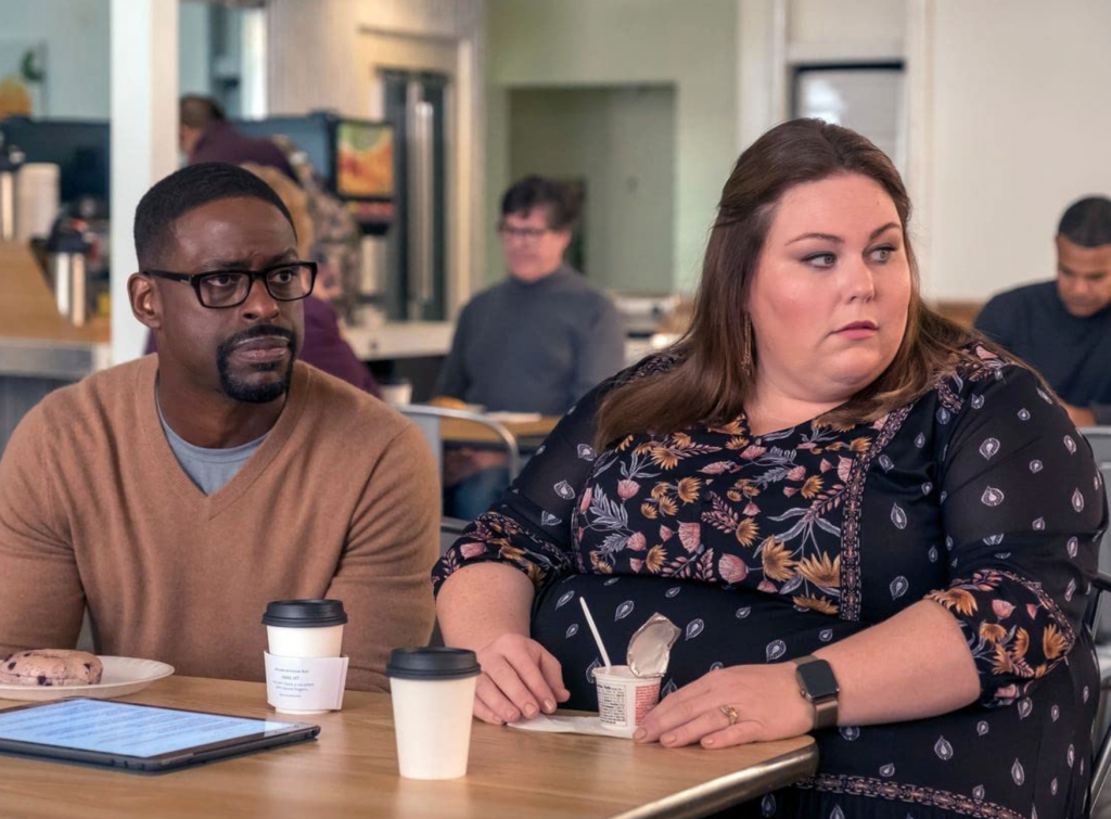 Sterling K. Brown and Chrissy Metz in 'This Is Us.' Photo Credit: IMDB/NBC.