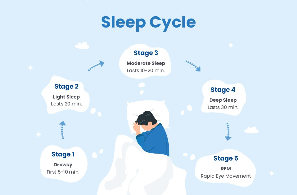 Sleep's Impact on Mental Health: The different stages of sleep