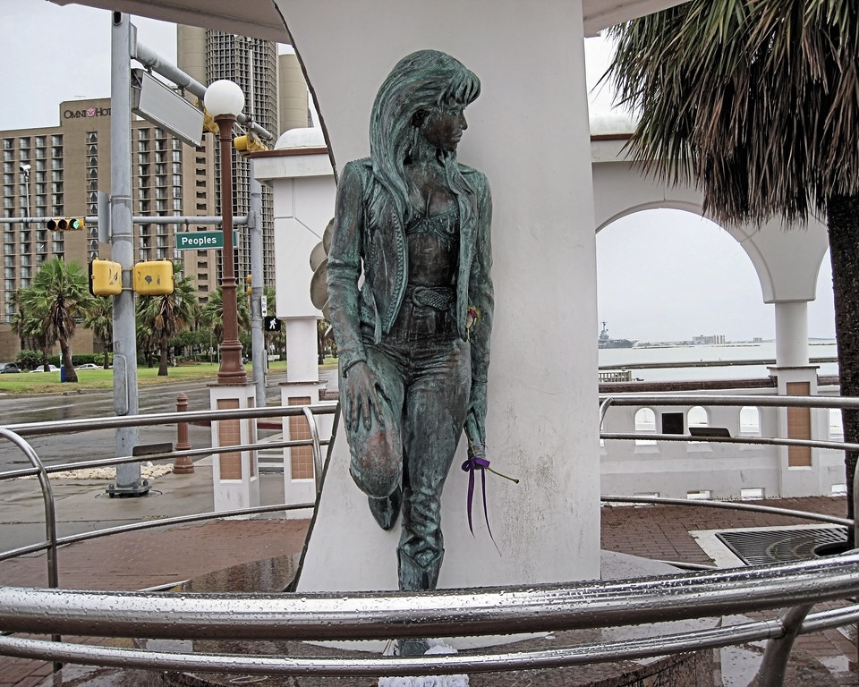 CORPUS CHRISTI, TX — The Selena statue pictured in July 2008. Photo Credit: Flickr / Martin Male.