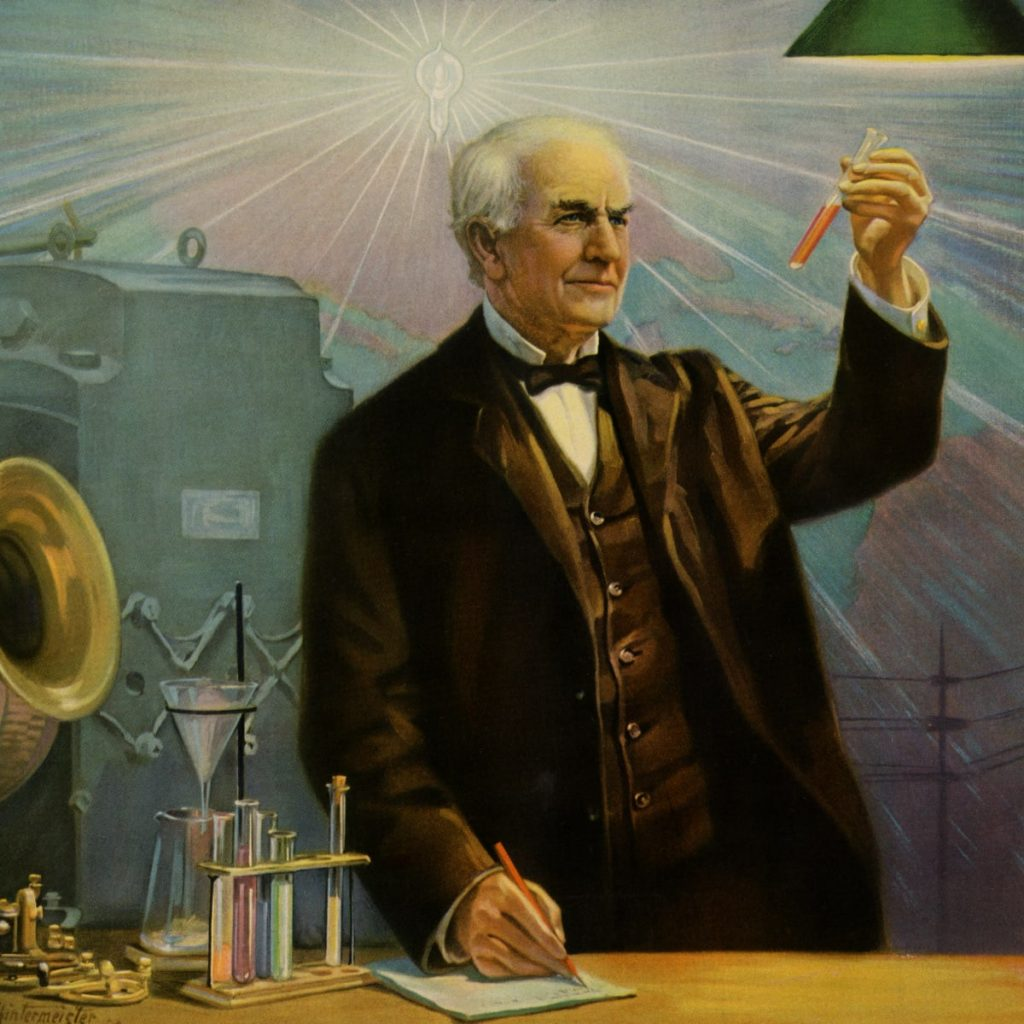Edison is known for his works and mental toughness.